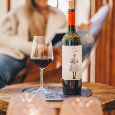 Vínotéka na chate Woodpark