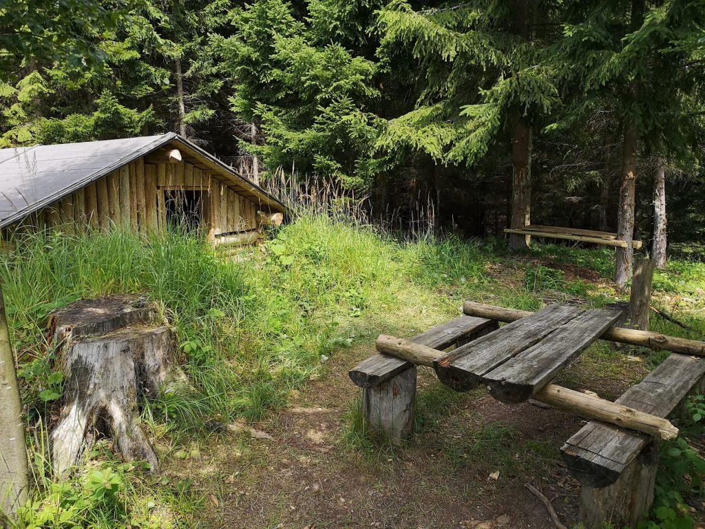 Partizanske bunkre Valcianska dolina