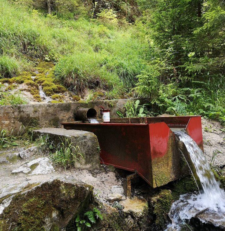 Pramen vo Valcianskej doline