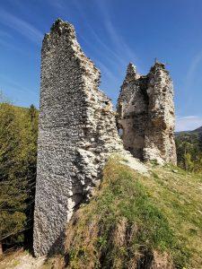 Goticka kaplnka zrucaniny Sklabina