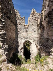 Hrad Sklabina Goticka kaplnka