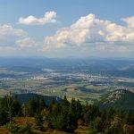 Mesto Žilina z vrchu Minčol