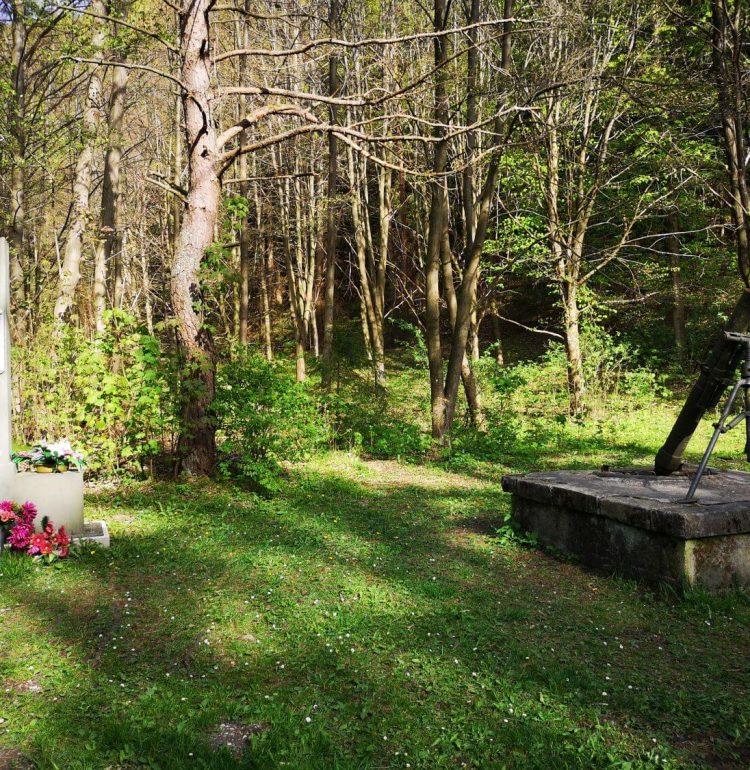 Pamätník v Gaderskej doline
