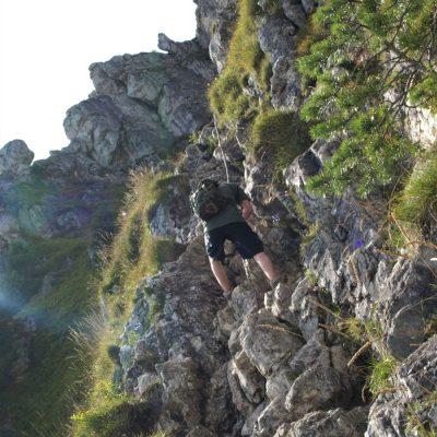 Reťazový chodník na Ostrú