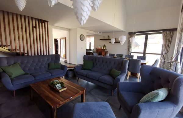 Spolocenska miestnost chata Woodpark