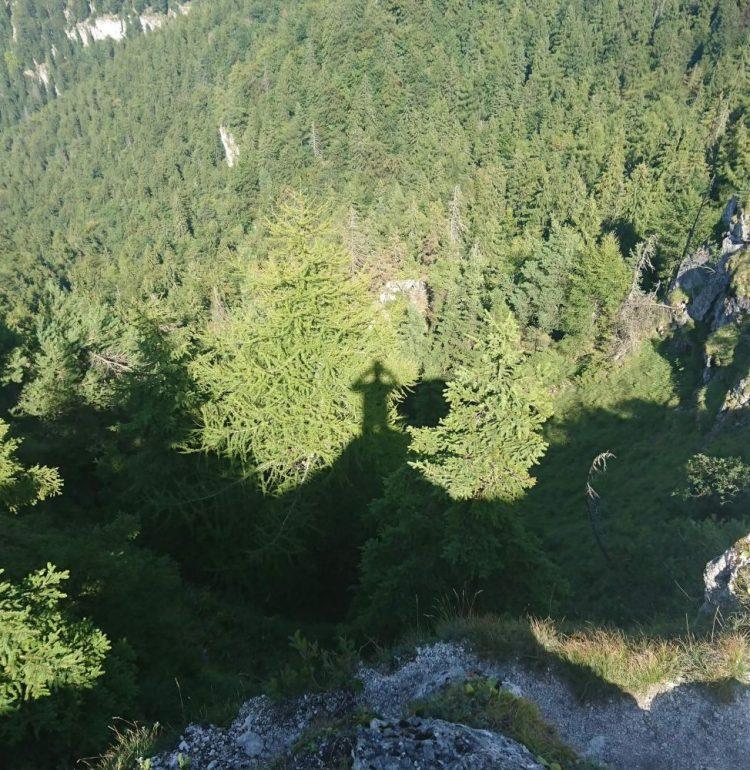 Výhľad na dolinu vo Veľkej Fatre