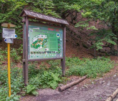 Šútovská dolina pri chate Vodopád