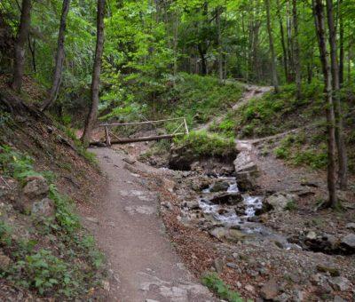 Chodník k Šútovskému vodopádu