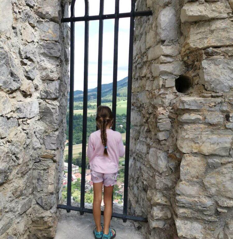 Klemba hrad Strečno