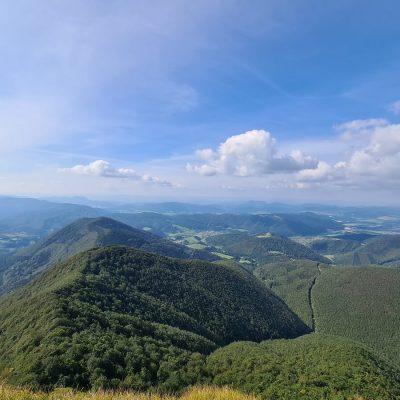 Rajecká dolina z Kľaku