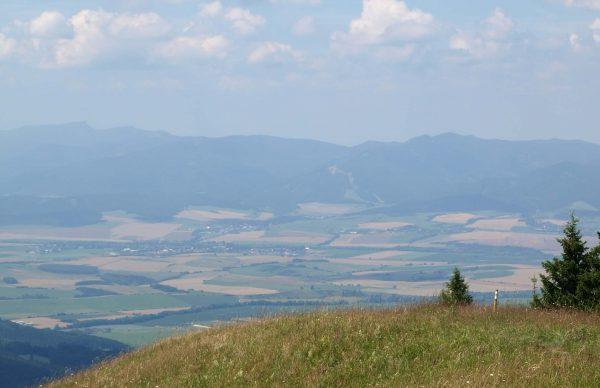 Valčianska dolina z Lysca