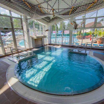 Vstup do plaveckého bazéna aquapark Turčianske Teplice