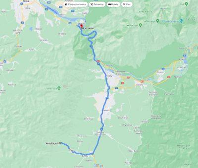 Mapa Rozprávkový les