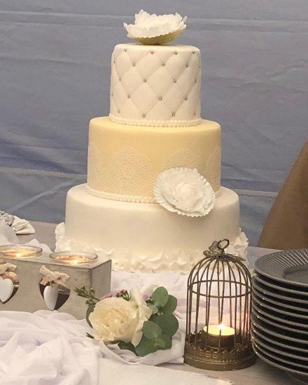 Svadobná torta vo Woodparku