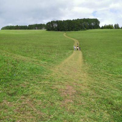 Cesta na hojdačku od Lavičky