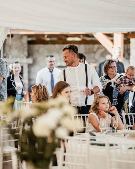 Svadobná oslava na chate